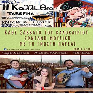Live Music - Tavern Kalli-Thea